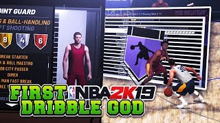 YOULL REGRET NOT MAKING THIS BUILD!DRIBBLE GOD SHOOTING BUILD😱MAX STAMINA AND SHOOT GREENS NBA 2K19