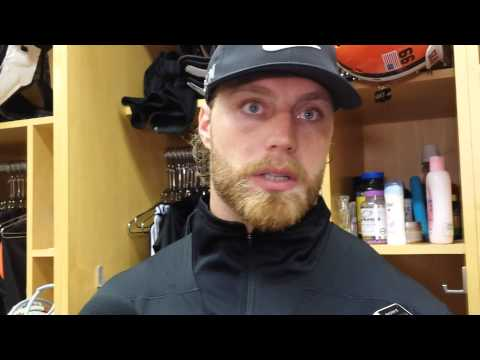 Cleveland Browns linebacker Paul Kruger on the start of his season, Ravens