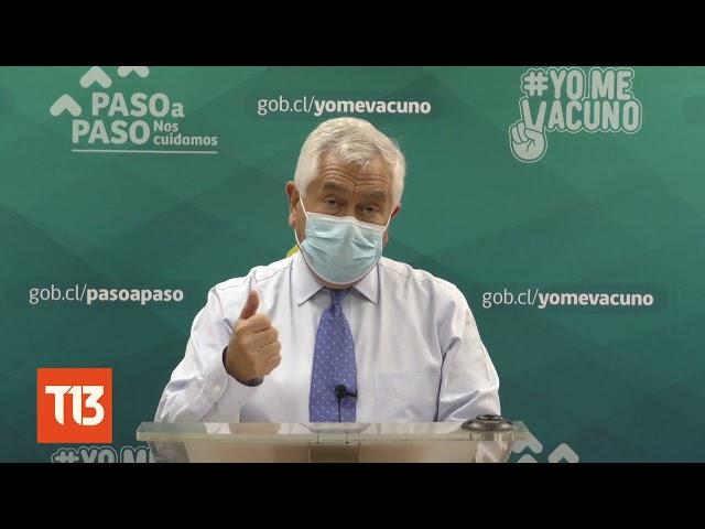 Mayor cifra en 12 semanas: Ministro Paris reacciona a nuevos casos COVID