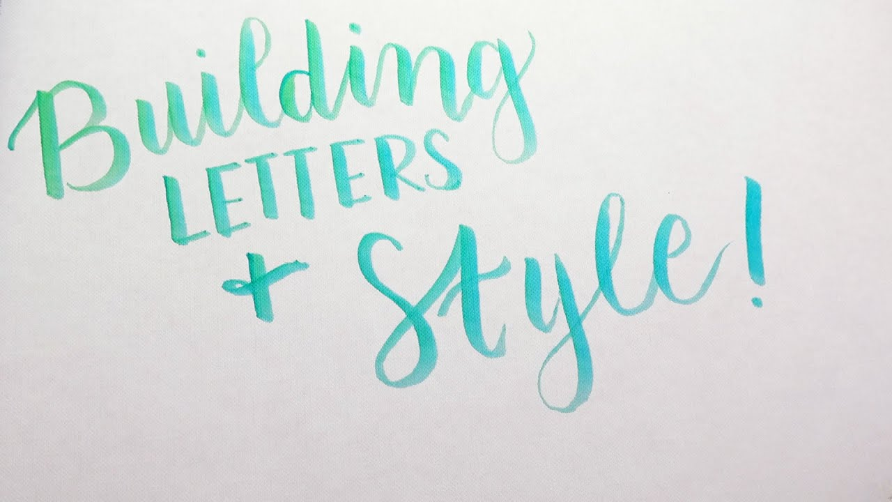 How To DIY Modern Calligraphy Part 2