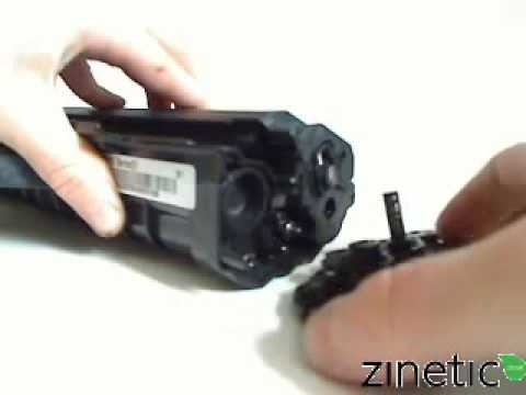 how to refill the samsung ml 2010 toner cartridge - Toner Cartridge Refill
