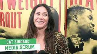 Cat Zingano talks UFC 232 eye injury: 'I'd rather have a baby ten times than do that again'