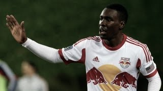 GOAL: Lloyd Sam chip kisses the post and bounces in | New York Red Bulls vs D.C. United