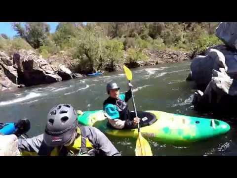 POV White Water Kayaking Raw Footage (Humbling Experience)