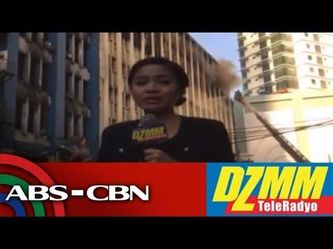 DZMM TeleRadyo: Sunog sumiklab sa gusali ng Land Management Bureau sa Binondo