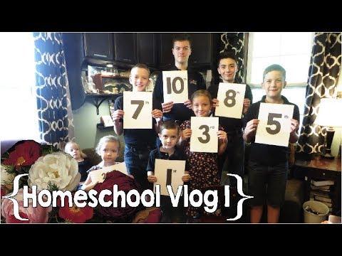 We Begin Again ║ Hang Out with This Homeschool Mom of 8 │ School Week 1