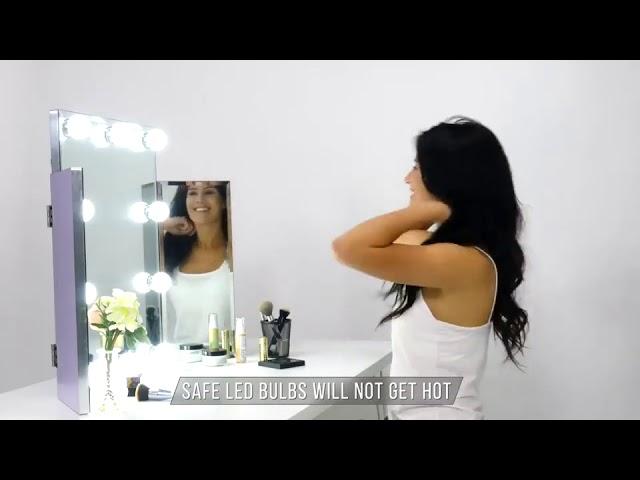 Commercial Video - Tri Fold Vanity Mirror⠀