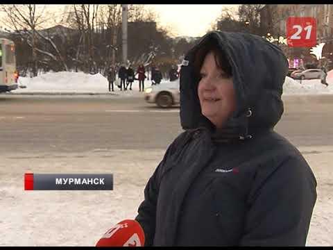 Ухудшение погоды в Мурманске