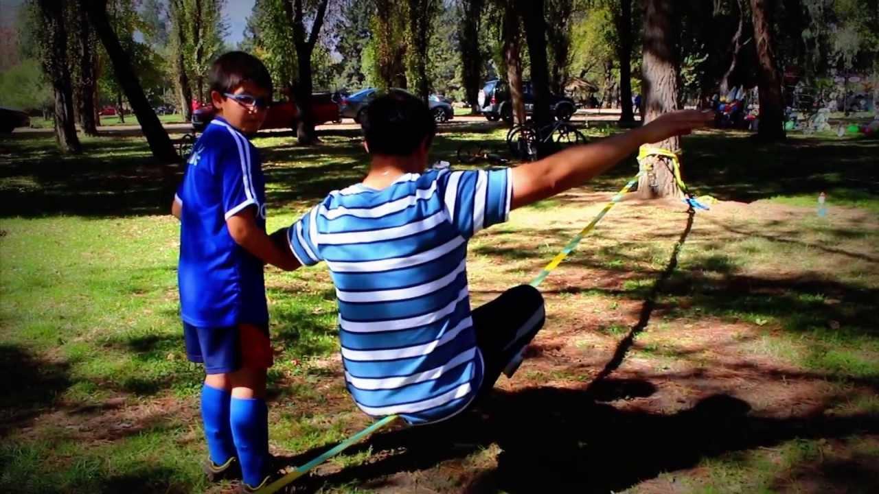 Slackline Slacker Chile: Taller de Slackline Colegio San Ignacio El ...