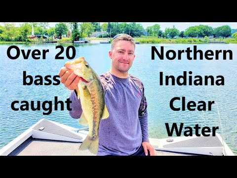 Dropshot And Wacky Rig Dominate Submerged Grass On Lake Wawasee | Indiana Fishing Tour