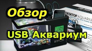 USB аквариум САМЫЙ ЧЕСТНЫЙ ПРАВДИВЫЙ ОБЗОР ALIEXPRESS