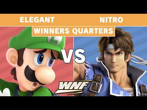 WNF 2.3 - Elegant (Luigi) Vs. Nitro (Richter) Winners Quarters - Smash Ultimate