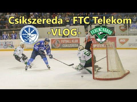 Sport Club Csíkszereda - FTC Telekom -VLOG- Hoki döntőn jártam! thumbnail