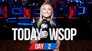 Today @ the 2021 World Series Of Poker - Day 2