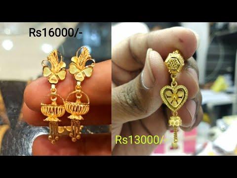 stylish-design-gold-ear-ring-in-2020