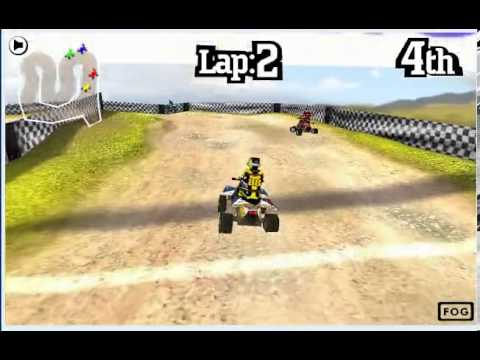 3d Quad Bike Racing Pc Browser Game Youtube