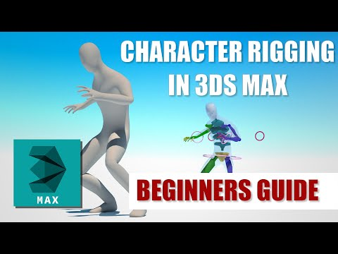 Tutorial - Character Rigging for Beginners - 3DS Max - NO BONES?!