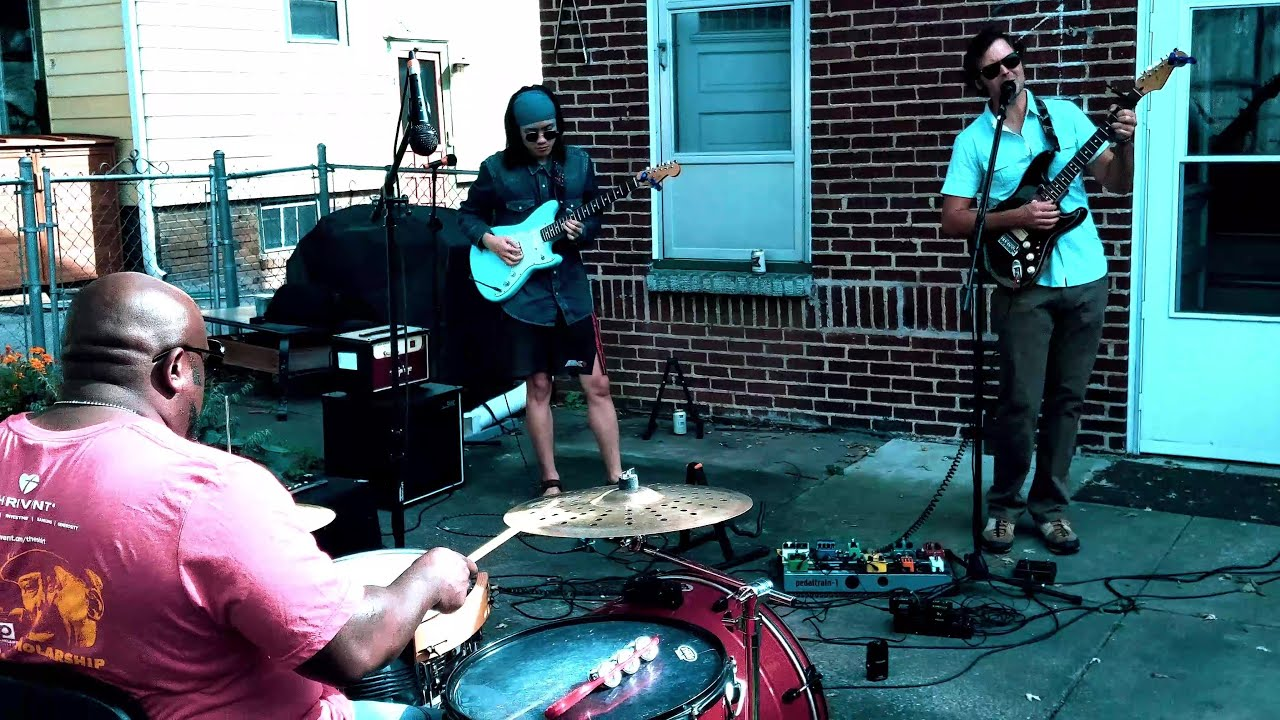 Live in the Backyard - 'Shine For Me' by Castle Finn