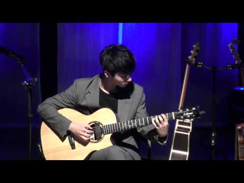 Sungha Jung Riding A Bicycle