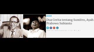 Download Dua Cerita tentang Sumitro, Ayah Prabowo Subianto