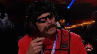 DrDisRespect preparing for a match, funny moments - TwitchCon 2017