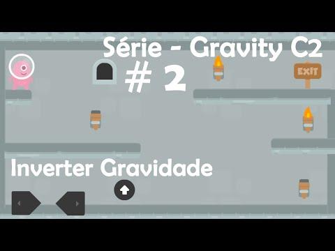 Inverter a gravidade em games do construct 2 - Série Gravity C2 #2