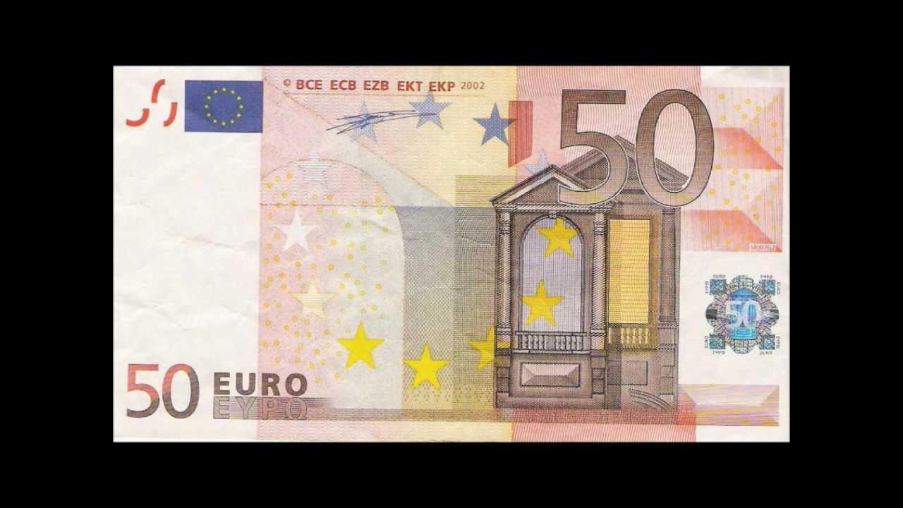 Foto de un billete de 50 euros 62