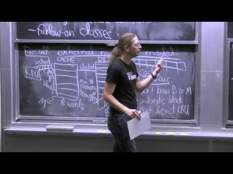 24. Cache-Oblivious Algorithms: Searching & Sorting