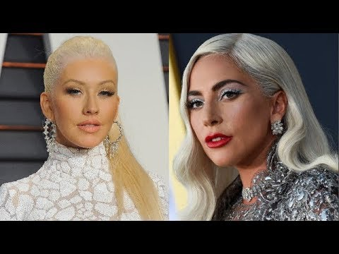 Christina Aguilera VS Lady Gaga IN SAME SONGS!!!!