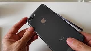 iPhone 8 Plus: Abrindo a caixa do celular da Apple