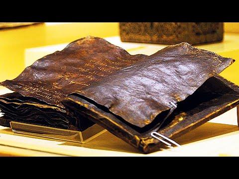 1500 летняя книга, которая противоречит Библии. Самые необычные находки