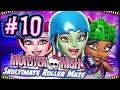 ☆ Monster High: Skultimate Roller Maze Walkthrough Part 10 (Wii, 3DS, DS) Full Gameplay ☆
