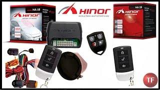 Como programar controle do alarme Hinor