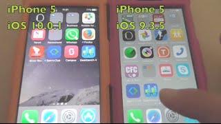 iOS 10 vs iOS 9 GeekBench 4 test on iPhone