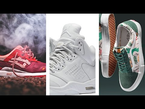 Adidas Dropping 3 NEW BOOST, Ronnie Fieg x ASICS, NEW Air MAX sneakers, Limited JORDANS #HEATCHECK