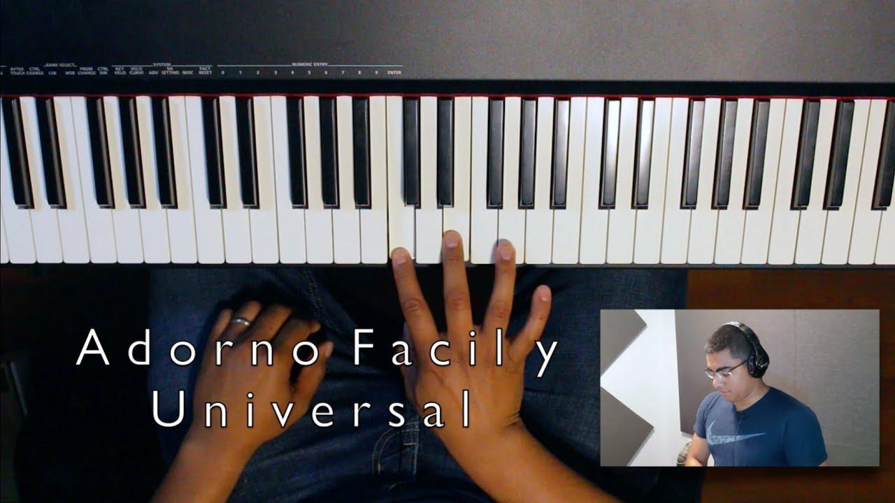Adorno Facil y Universal (Tutorial Para Piano)