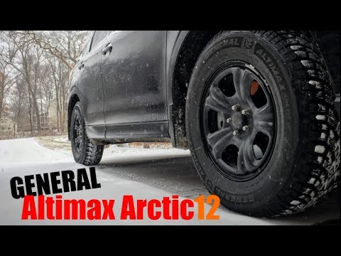 Snow Tire Review General Altimax Arctic 12 Youtube