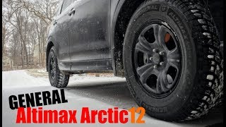 Snow Tire Review General Altimax Arctic 12