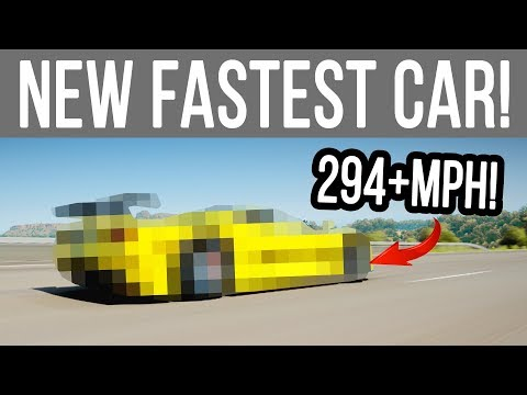 Forza Horizon 4 - NEW FASTEST CAR! 294+MPH (w/Tune)