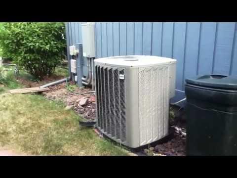 2006 5-Ton Ameristar Air-Conditioner Running! - YouTube