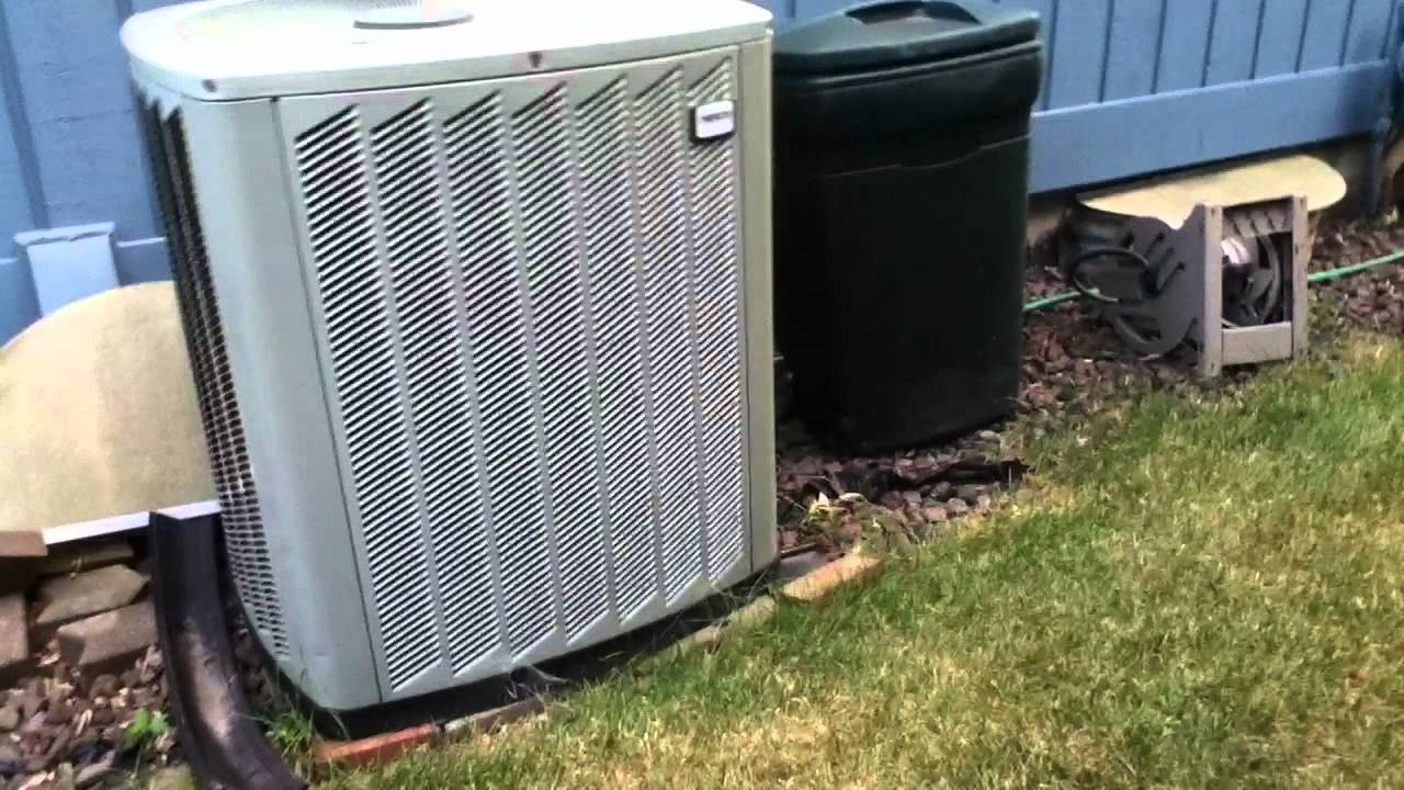 2006 5 Ton Ameristar Air Conditioner Running Youtube
