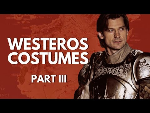 Costumes of Westeros Part III (House Lannister, House Baratheon, House Greyjoy)