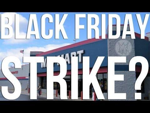 Walmart Strikers Eye Black Friday
