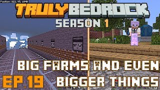 Truly Bedrock S1E19 Starting the giant kelp farm and the creation of something even bigger