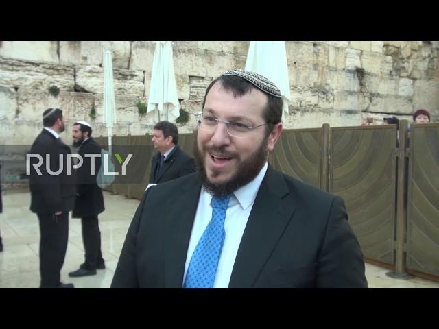 East Jerusalem: Mass prayer held at Western Wall to stop coronavirus epidemic