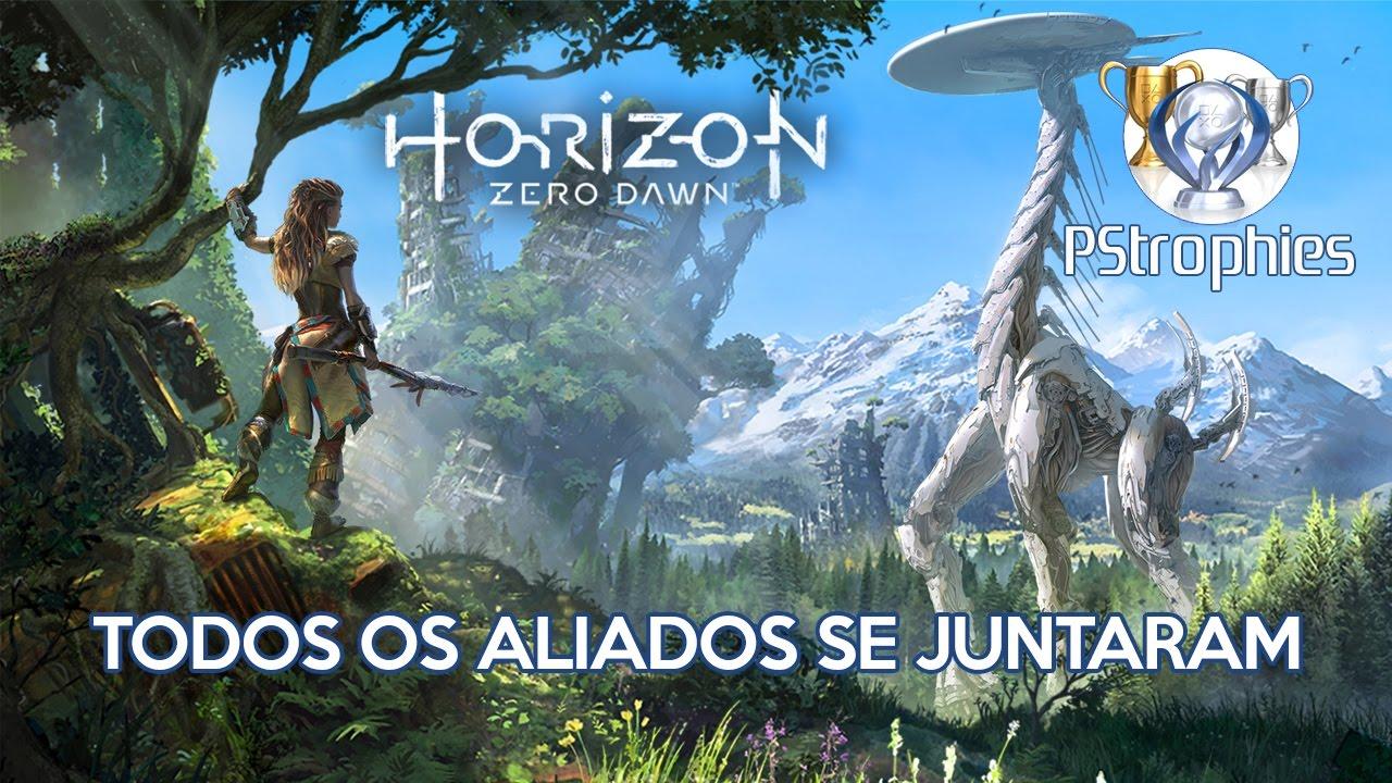 Horizon Zero Dawn - Todos os aliados se juntaram - Guia de Troféu ... 1a49abb77d66f