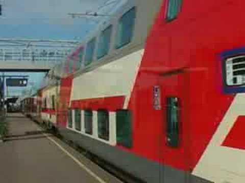 Turku VR Sr2 locomotive with Talgo Oy train