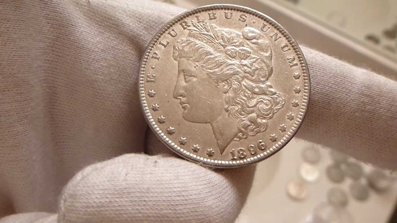 1896 Morgan Silver Dollar Coin Review Youtube