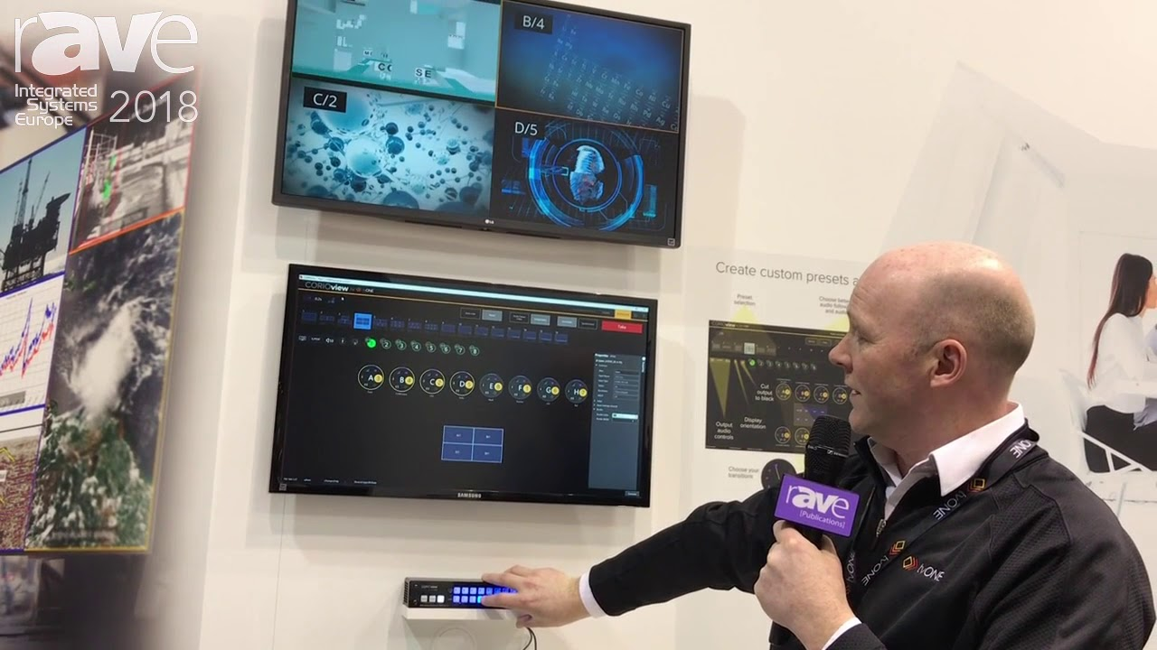 ISE 2018: tvONE Shows New CORIOview Multi Window Processor with Up To Eight  Inputs