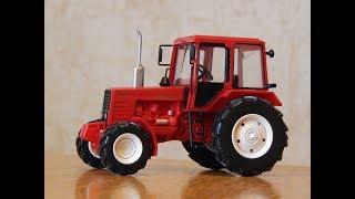 МТЗ-1025 ''Білорусь''. Огляд моделі 1:43 Трактори: Історія, люди, машини. №103
